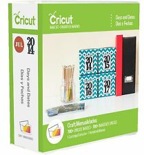 Cricut Cartridge - Days and Dates - Calendar, Months, Years, Numbers