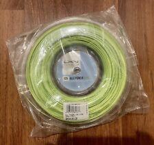 Luxilon ALU Power 125 16L Reel (1.25mm Tennis String) Full 220m/726ft. Lime, New