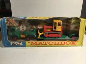 Matchbox King Size K17 Low Loader Truck Within Its Original in Box
