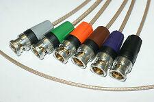 Länge nach Kundenwunsch*: ultra-dünnes HD-SDI Video BNC Kabel Silber-Teflon