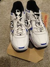 New Balance 452 White Blue Running 4E Mens Size 12 Eur 46.5 NEW MX452WR
