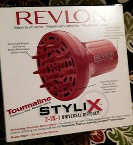 DISCONTINUE Vtg. Revlon Stylix Tourmaline 2 in 1 Diffuser