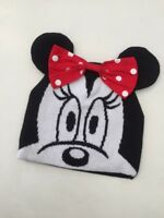 NEW Kids Teen Minnie Mouse Girls Winter Knit Cap Hat Beanie / 7-13 years