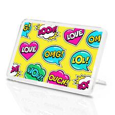 Cartoon Texting Words Classic Fridge Magnet - OMG Teen Girls Cool Gift #14748