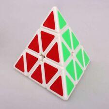 Original MoYu Pyraminx Magic Cube Triangle Twist Toy White FREE US SHIPPING