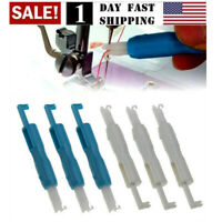 US! 6 Pieces Sewing Needle Inserter Threader Threading Tool for Sewing Machine