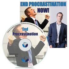 END PROCRASTINATION HYPNOSIS CD - Mark Bowden Hypnotherapy motivation