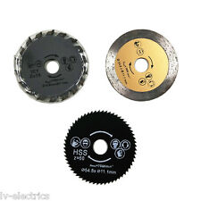 54.8mm Diameter 11.1mm Bore Mini Circular Saw Cutting Blade Disc Multi Tool