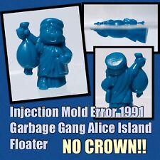 Vintage 1991 Topps UK BLUE ALICE ISLAND Garbage Gang CHEAP TOY pail kids ERROR!