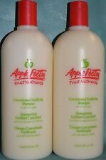 Apple Pectin Fruit Nutrients concentrated Fortifying Shampoo 33.8 oz each 2-pack