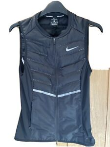 Nike Aeroloft Running Gilet Black Size XS