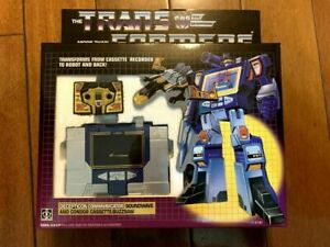 Transformers G1 Soundwave brand new with buzzsaw Free Shipping by Eby's Speedpak