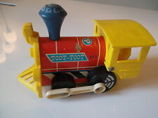 ANCIEN TRAIN TOOT-TOOT FISHER PRICE VINTAGE 1964