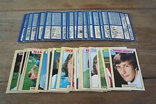 A&BC Blue Back Football Cards 1973 - First Series VGC! Pick The Cards You Need