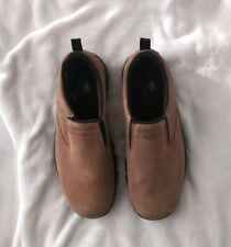 Red Head Mens Light Brown Suede Leather  Slip On Shoes.  Size 10.5.M