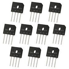 10 x GBU608 Glas Brueckengleichrichter Single Phase 6A 800V - Schwarz GN