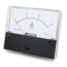 Messinstrument 0 - 30 A DC zum Einbau, Analog Amperemeter mit Shunt