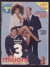 SORRISI 45/1986 CARMEN RUSSO DON JOHNSON PATRICK SWAYZE FALETTI PAOLA TURCI