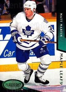 1993-94 Parkhurst Emerald #471 Matt Martin