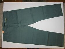 NEW LEVI'S 501 MEN'S ORIGINAL FIT STRAIGHT LEG JEANS BUTTON FLY Green 44/32