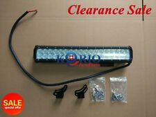 17INCH 108W CREE LED LIGHT BAR FLOOD BEAM OFFROAD WORK LIGHT SUV TRUCK