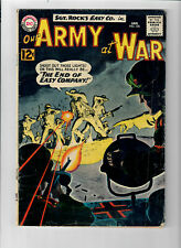 OUR ARMY AT WAR #126 - Grade 5.0 - Sgt. Rock & Easy Company!