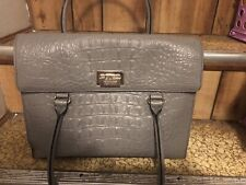 Kate Spade New York  Gray Leather Bag Large