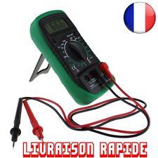 Multimètre Numérique Voltmètre Ampèremètre AC DC OHM Volt Testeur LCD Courant