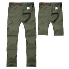 Tactical Waterproof Pants Male Fishing Trousers Breathable Detachable Combat