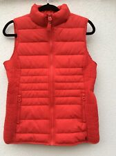 Joules Fallow Gilet Red Size 10 rrp £46.50