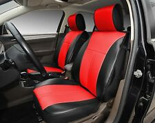 Pro-Tech Brand, Car Seat Cushion Covers SKU:209 Black/Red