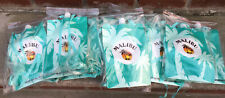 Malibu Drink Pouches W/funnel And Strap Set 12