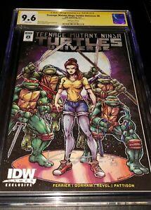 Teenage Mutant Ninja Turtle Universe #8 CGC SS 9.6 IDW GAME EDITION