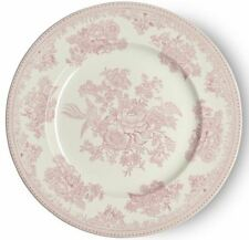 Burleigh dinner plate pink Asiatic Pheasants 25.5cm