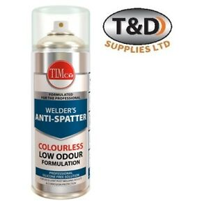 Welder's Anti Spatter spray 300ml Silicone and petroleum free