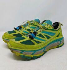 Hoka One One Mafate Speed Running Shoes Green Comfort Walking Womens Size 8 W
