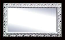 SPECCHIERA moderna 80 x 180 legno antitarlo laccata bianca e colori vari