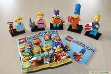 LEGO® 71009 The Simpsons™ Serie 2 Nr. 1-5 komplette Familie Simpson NEU in OVP -