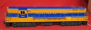 LIONEL 2341 JERSEY CENTRAL FM - NO SCREW CRACK - HAS LATER FM CHASSIS -TEXCELLEN