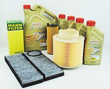 MANN und SCT Filterset  Audi A6 4F 2,7 + 3,0TDI bis 10/08 mit 9L Castrol 5W30 LL