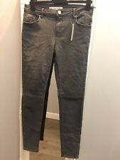 Asos Lissabon Midrise Skinny Jeans Scot grau W30 L32 (AS-36/4)