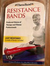 Thera-Band Resistance Bands-3 Levels of Light Resistance Bands- Beginning set-