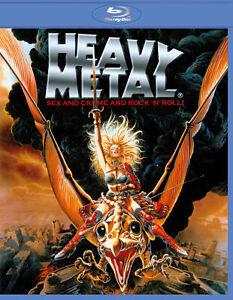 Heavy Metal (John Candy Harold Remis Eugene Levy) New Region B Blu-ray