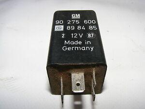 Opel Relè 90275600 898485