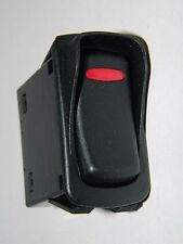 NEW Carling Momentary Rocker Switch with Guard - Black Red 15A 24V on / off / on