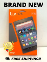 "Amazon Fire HD 8 Tablet E-Reader (8"" HD Display, 32 GB) - Black"