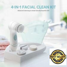 Waterproof Electronic Vibrating Sonic Facial And Body Cleansing Face Brush New
