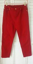 Ralph Lauren Jeans Co. size 14 red jeans
