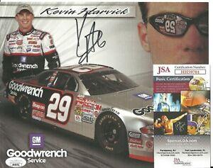 Kevin Harvick Signed Auto 8x10 NASCAR Photo JSA COA Racing