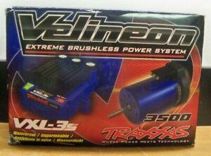 NEW TRAXXAS VELINEON BRUSHLESS POWER SYSTEM VXL-3S ESC & 3500 MOTOR FREE PRIORIT